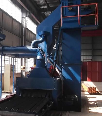 钢结构抛丸机除锈施工技术原理