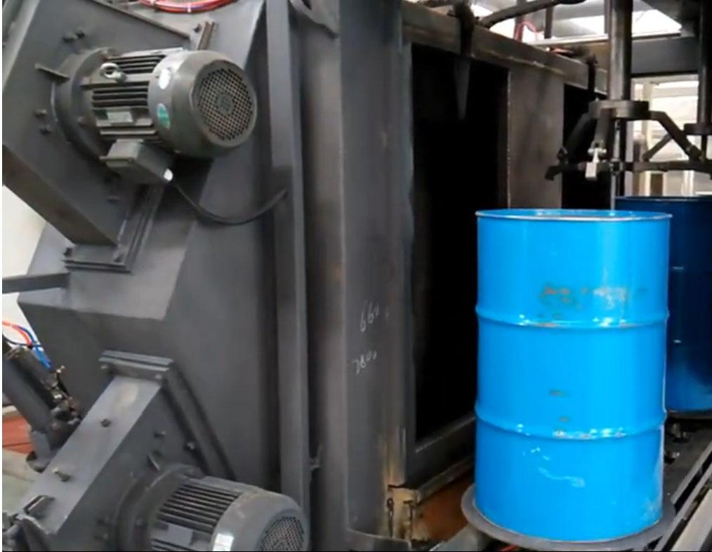 储油tong抛丸机